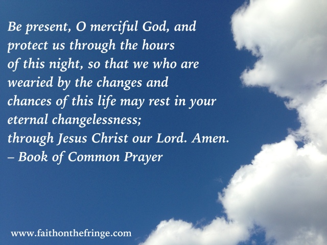 Be present, O merciful God