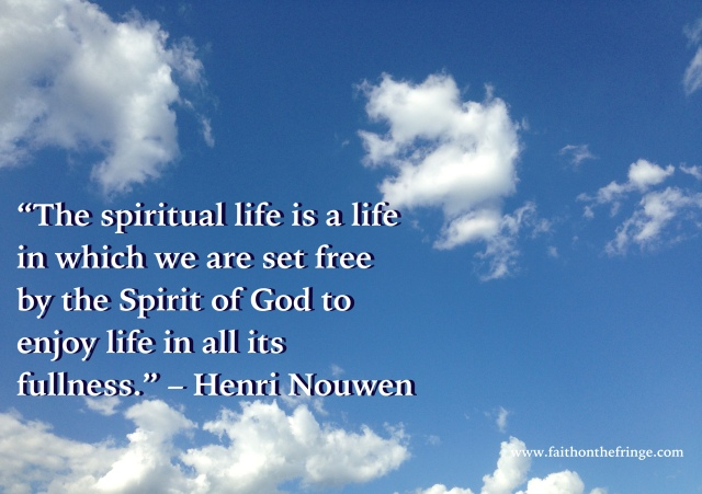 HN - the spiritual life