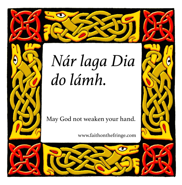 May God not weaken your hnd