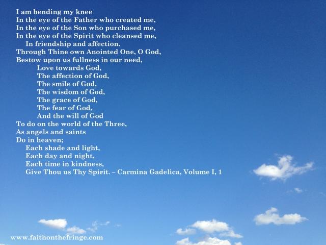 Carmina Gadelica, Volume I, 1