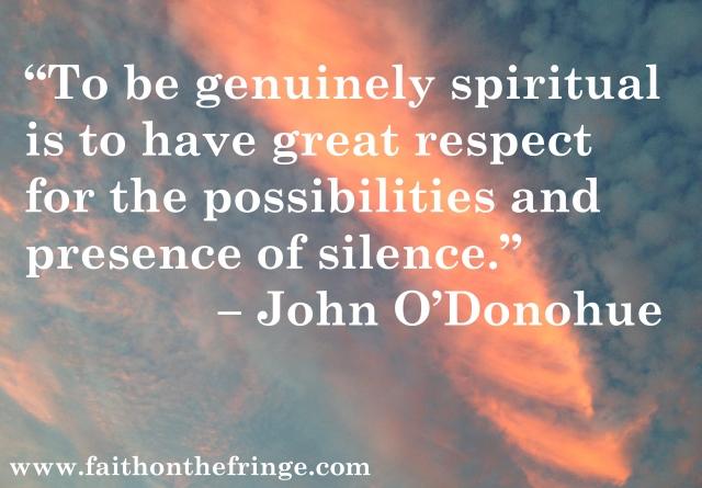 John O'D, spiritual