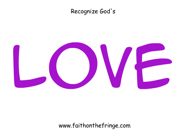 Recognize God's Love