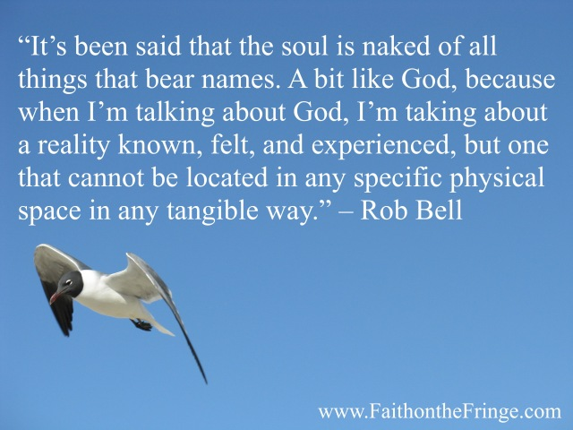 Rob Bell, Talking about God