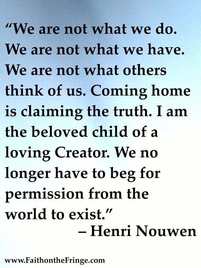 – Henri Nouwen