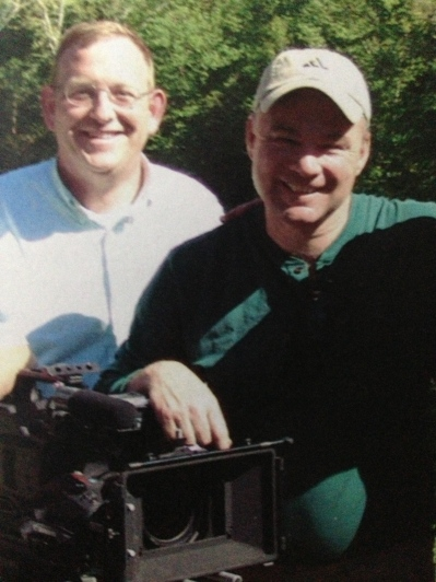 Me and then Gov. Kaine, circa 2007, after directed him in a television commercial.