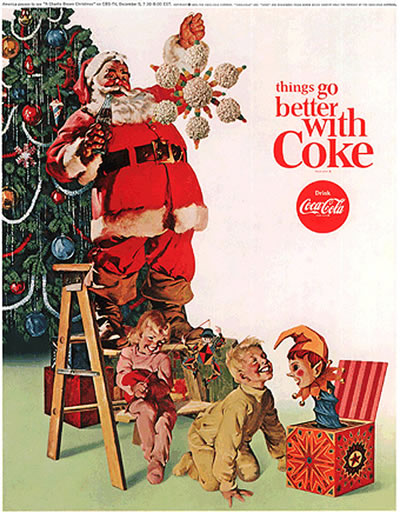 D'Arcy Advertising Agency executive working with Coca-Cola